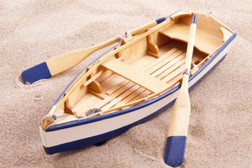 Classic little boat