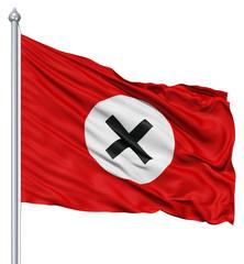 Waving Flag of antinazi