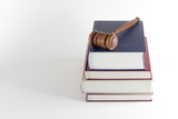 Gavel Atop Legal Texts