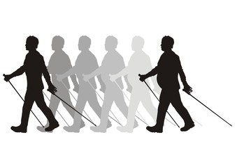 nordic walking in forma