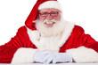 Lächelnder Weihnachtsmann