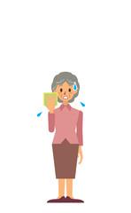 祖母 2 暑い 焦る