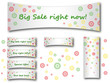 Spring and Summer Floral Sale Background