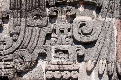 Glyph in  Xochicalco (Mexico)