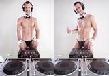 Tux DJ poster