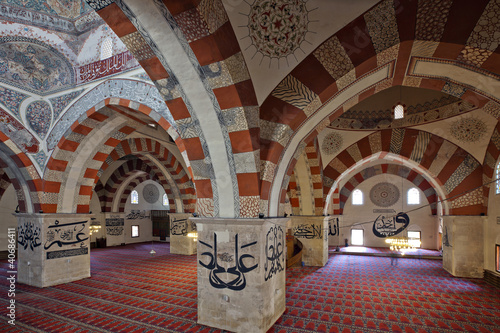 The Old Mosque is an early 15th century Ottoman mosque in Edirne