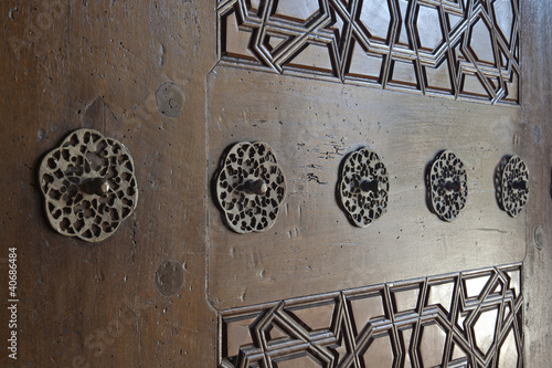 Door patterns of Selimiye Mosque