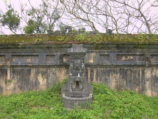 The citadel in Hue, Vietnam - A UNESCO World Heritage Site