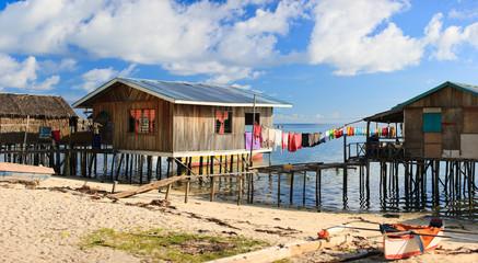 Sea gypsy houses