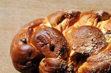 challah for sabbath celebration