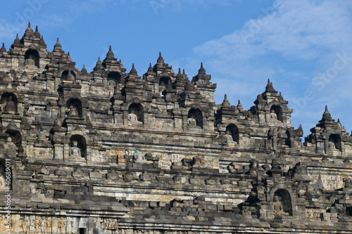 Borobudur Temple, Indonesia.