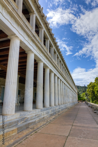 Stoa of Attalus, Athens, Greece
