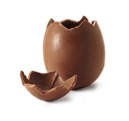 Broken Chocolate Easter egg