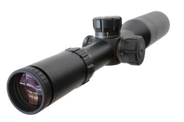 Riflescope isolated on white