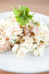 Salmon salad - Ducan diet
