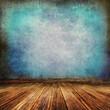 Grunge Interior blue mosaik