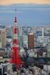 Fototapete Tokyo - Schrein - Turm / Windrad