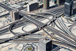 Verkehrsknoten in Dubai