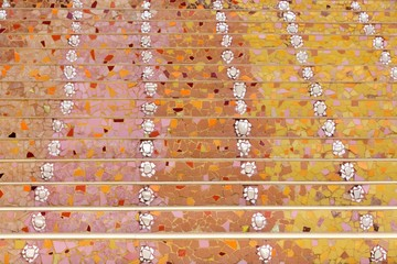 mosaic colorful stairs