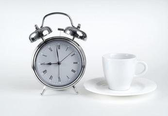 Alarm clock, Kaffeetasse