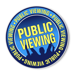 Sticker - Public Viewing (I)