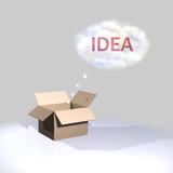 Thinking outside the box-Idea