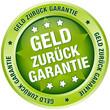 """Button """"Geld zurück Garantie"""" grün"""