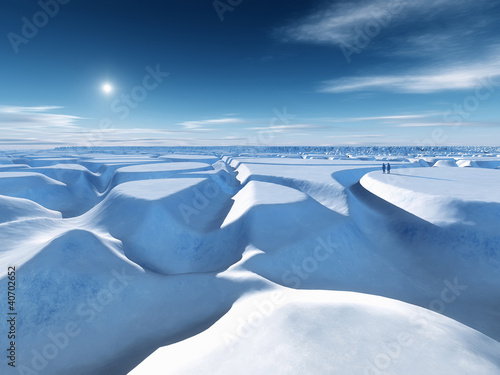 Foto op Canvas Poolcirkel north pole