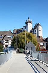 Blick auf Schloss Diez, Deutschland