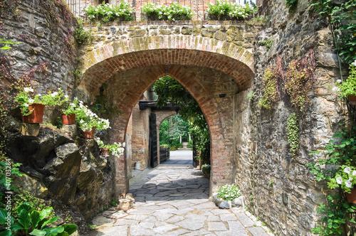Gropparello Castle. Emilia-Romagna. Italy. - 40703284