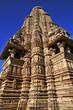 Khajurhao, Madhya, Pradesh, i templi dell'amore, India