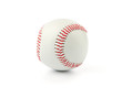 All in focus baseball isolated on white background