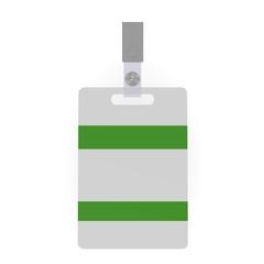 3d render of ID badge