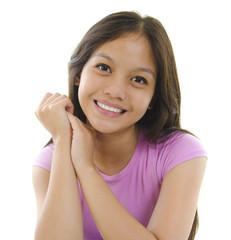 Pretty Pan Asian teen