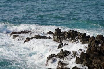 東尋坊の岩