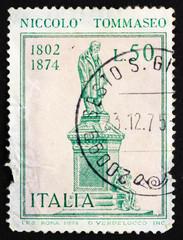 Postage stamp Italy 1974 Nicollo Tommaseo Statue
