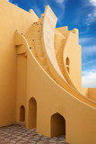 On the photo: Jantar Mantar Observatory. Jaipur, India