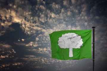 Baum Flagge