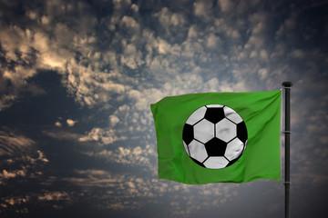 Fußball Fahne
