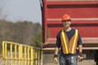 Engineer at a gravel and asphalt plant