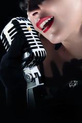 fashionable singer - ragazza cantante