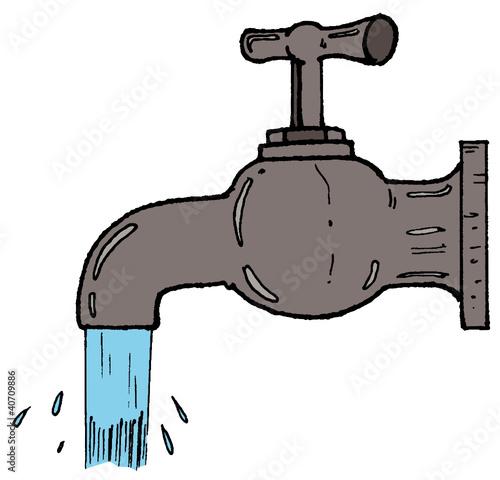 Comment dessiner un robinet - Comment devisser un robinet grippe ...