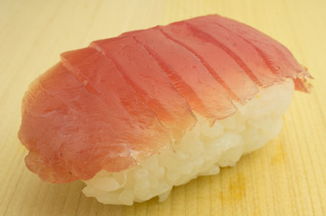 Japanese sushi maguro, traditional japanese food