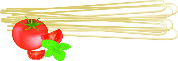 spaghetti doppi pomodoro e basilico