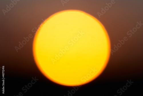 Big red star Sun