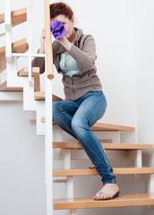 treppe putzen