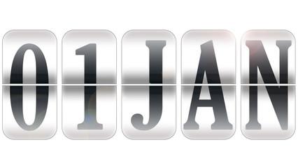 1 de Janeiro - dia de ano novo