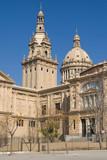 Palau Nacional de Montjuic poster