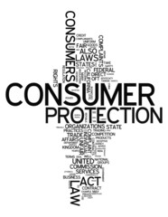 "Word Cloud ""Consumer Protection"""