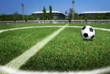 soccer ball filed